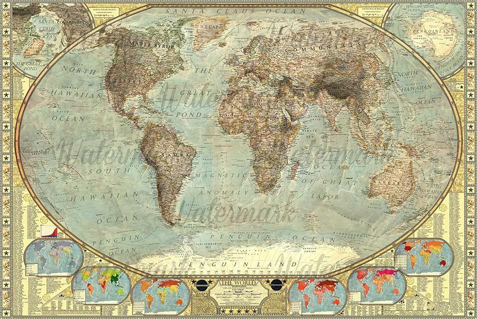 Mappa mondiale degli stereotipi